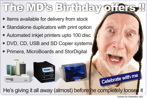 MDs 41st Birthday discounts