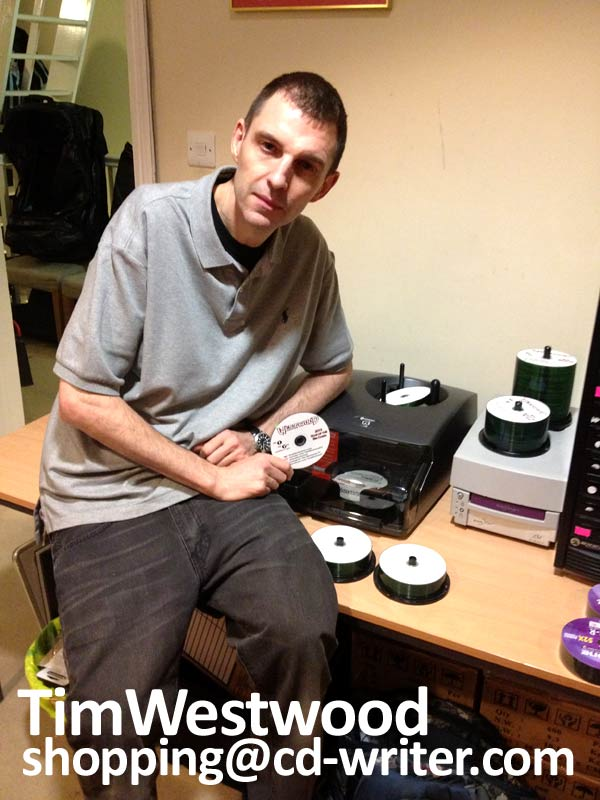 Tim Westwood shops at CD-writer.com